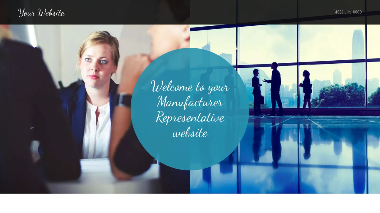 Manufacturer Representative Website: Example 10