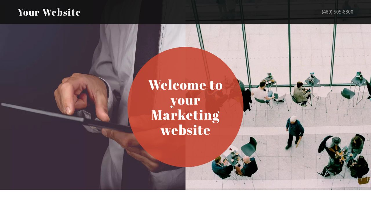 Marketing Website: Example 1