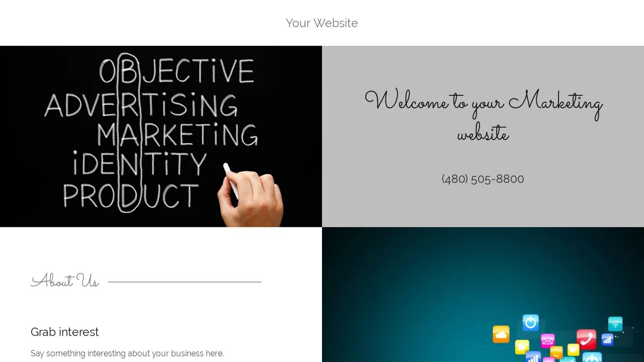 Marketing Website: Example 14