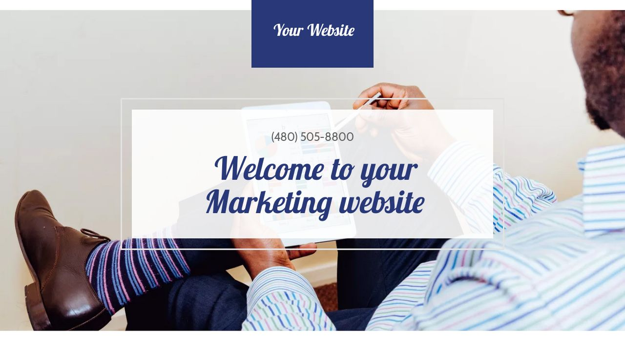 Marketing Website: Example 2