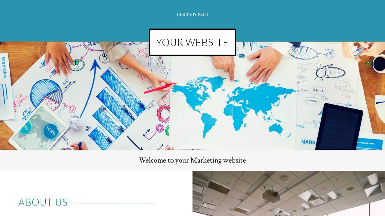 Marketing Website: Example 4