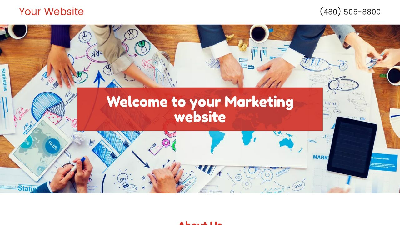 Marketing Website: Example 5