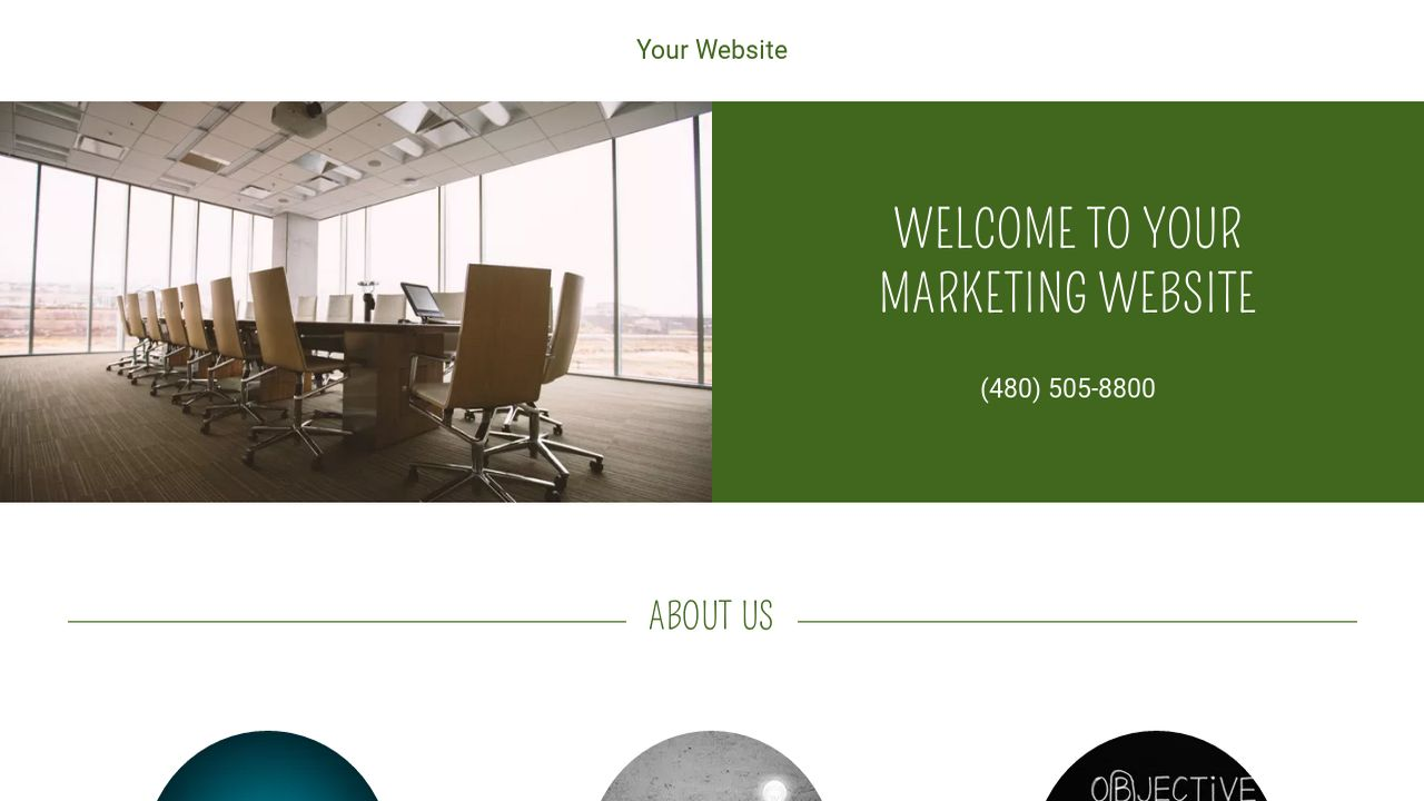 Marketing Website: Example 7