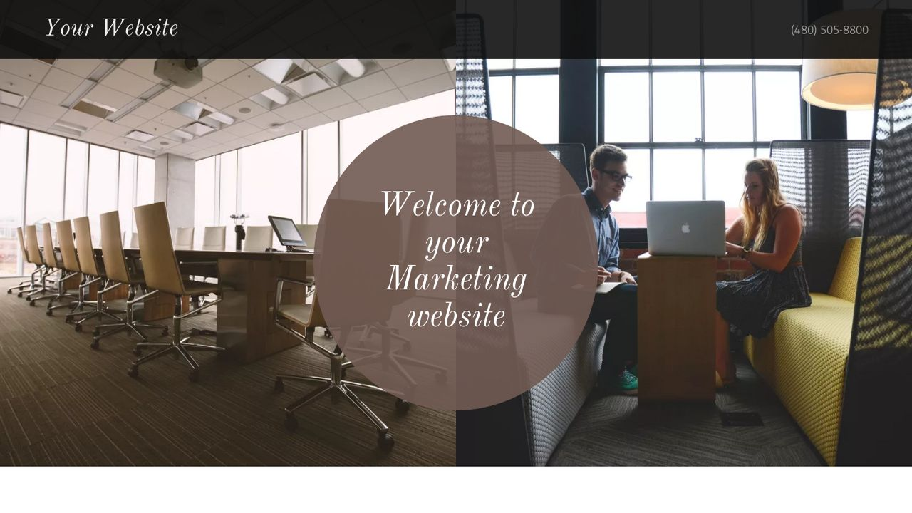 Marketing Website: Example 8