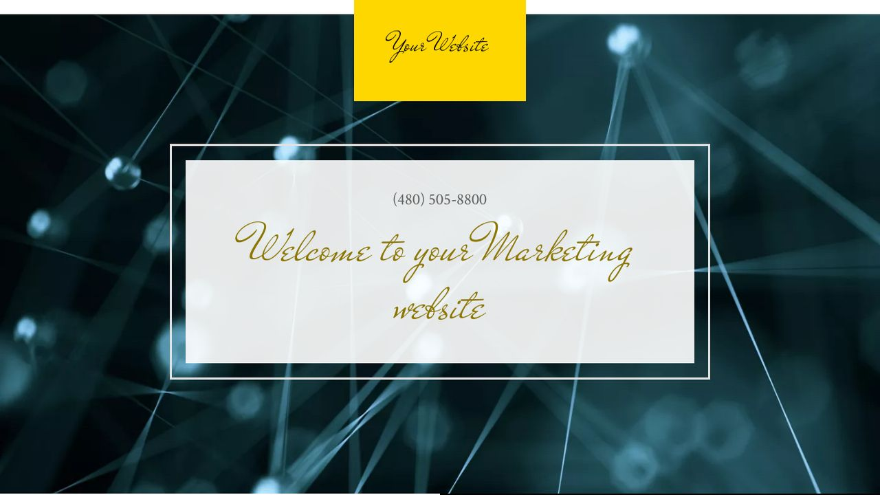 Marketing Website: Example 9