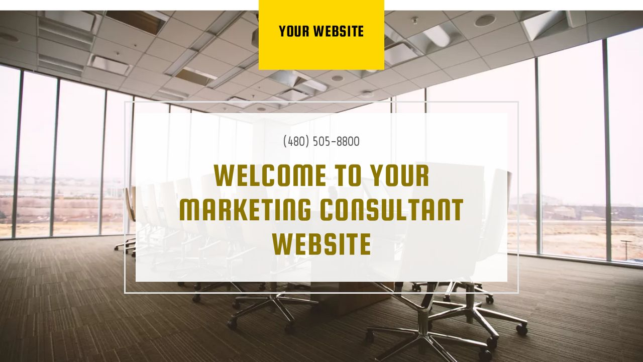 example 10 marketing consultant website template godaddy. Black Bedroom Furniture Sets. Home Design Ideas
