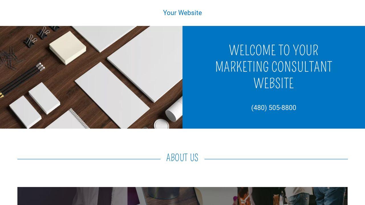marketing consultant website templates godaddy. Black Bedroom Furniture Sets. Home Design Ideas