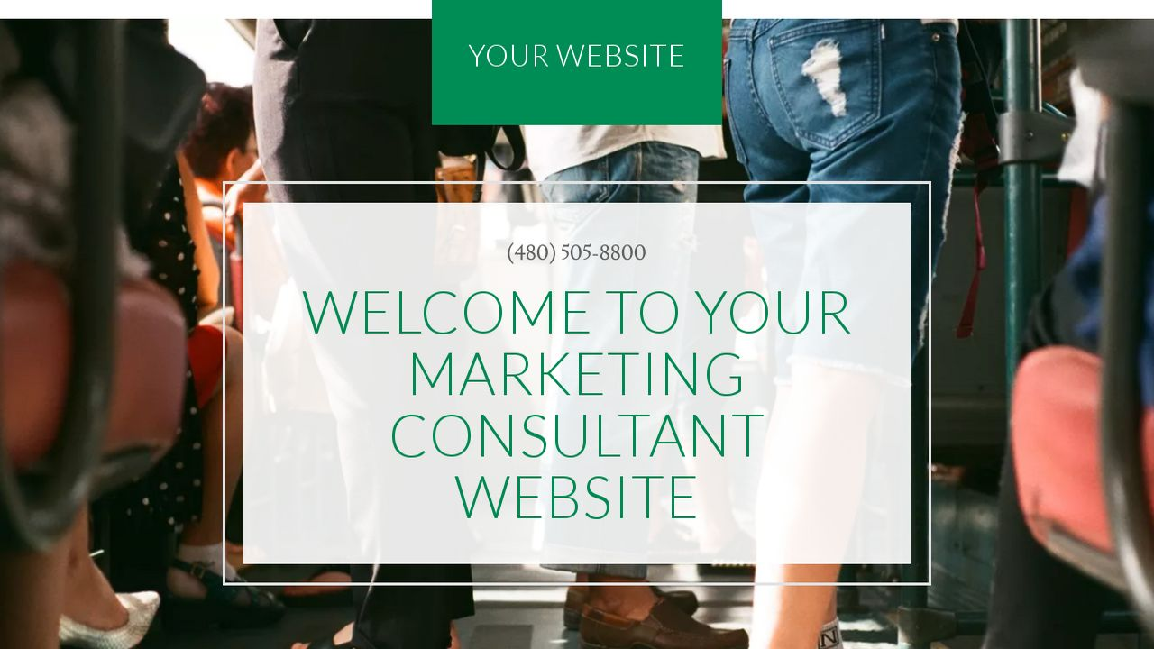 example 3 marketing consultant website template godaddy. Black Bedroom Furniture Sets. Home Design Ideas