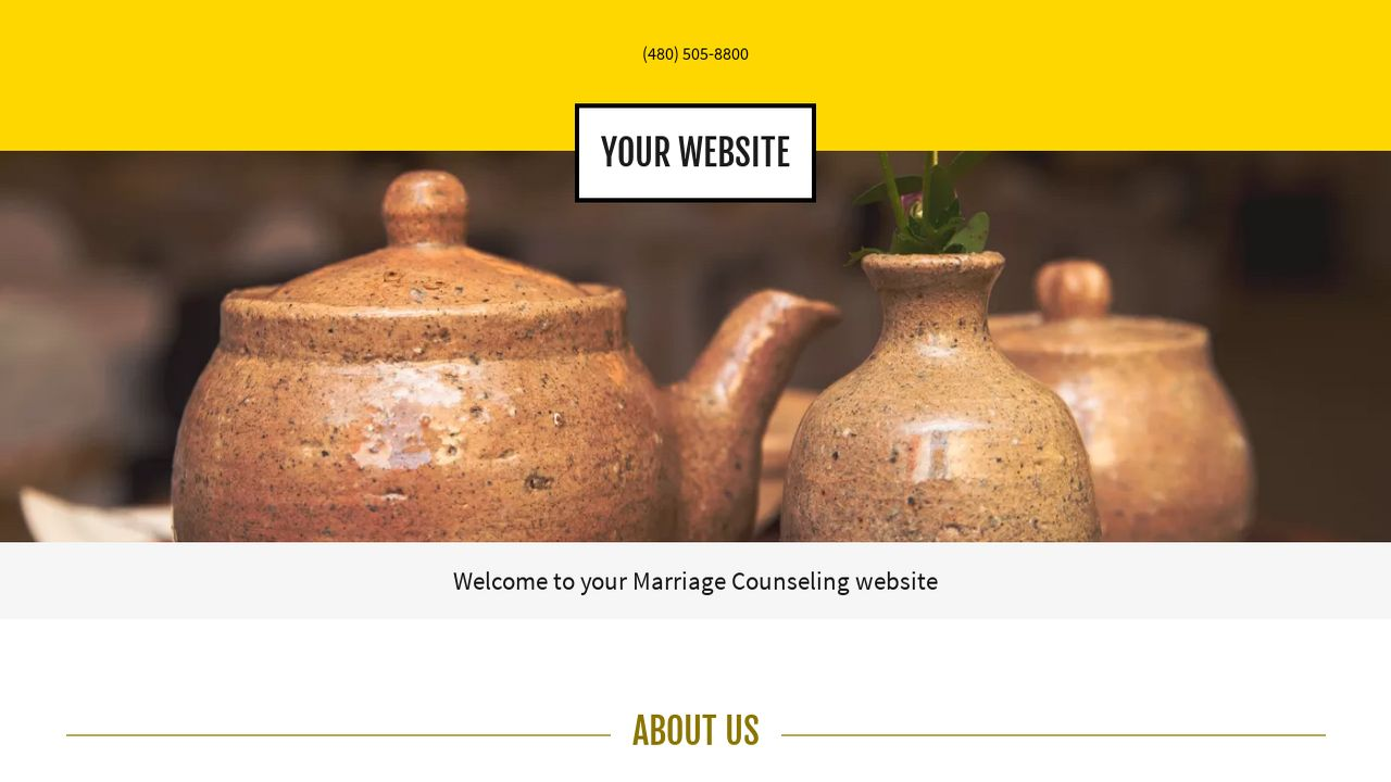 Marriage Counseling Website: Example 10