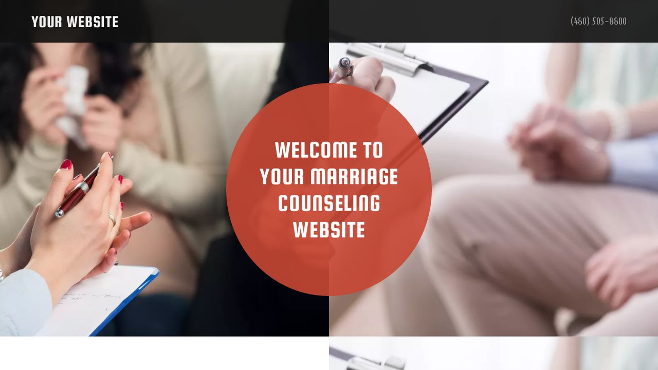 Marriage Counseling Website: Example 11