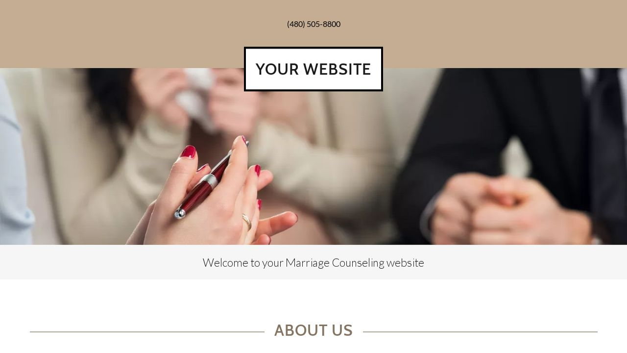 Marriage Counseling Website: Example 17