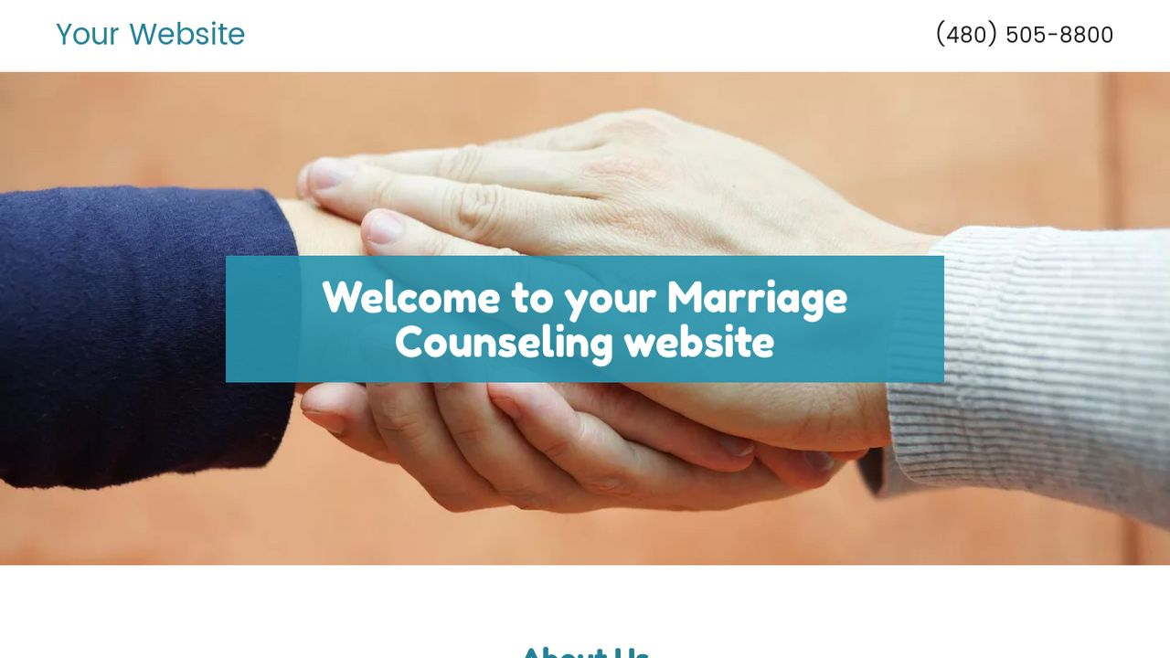 Marriage Counseling Website: Example 2