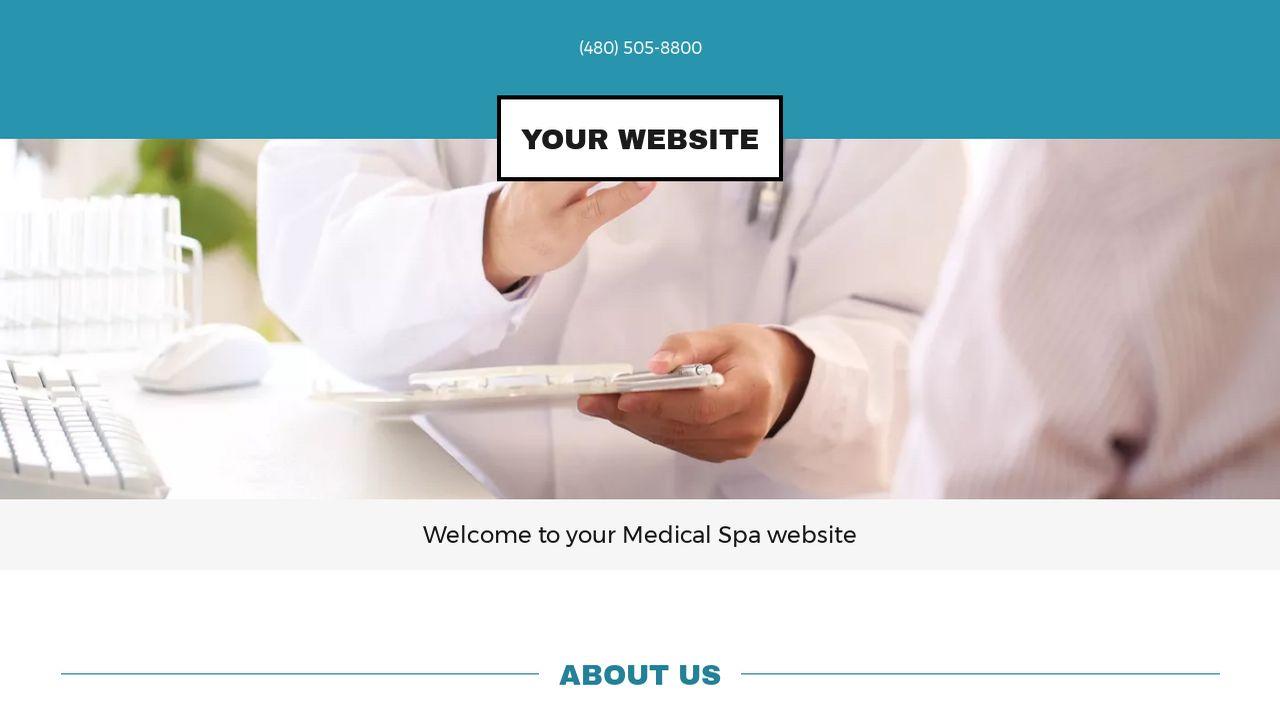 Medical Spa Website Templates | GoDaddy
