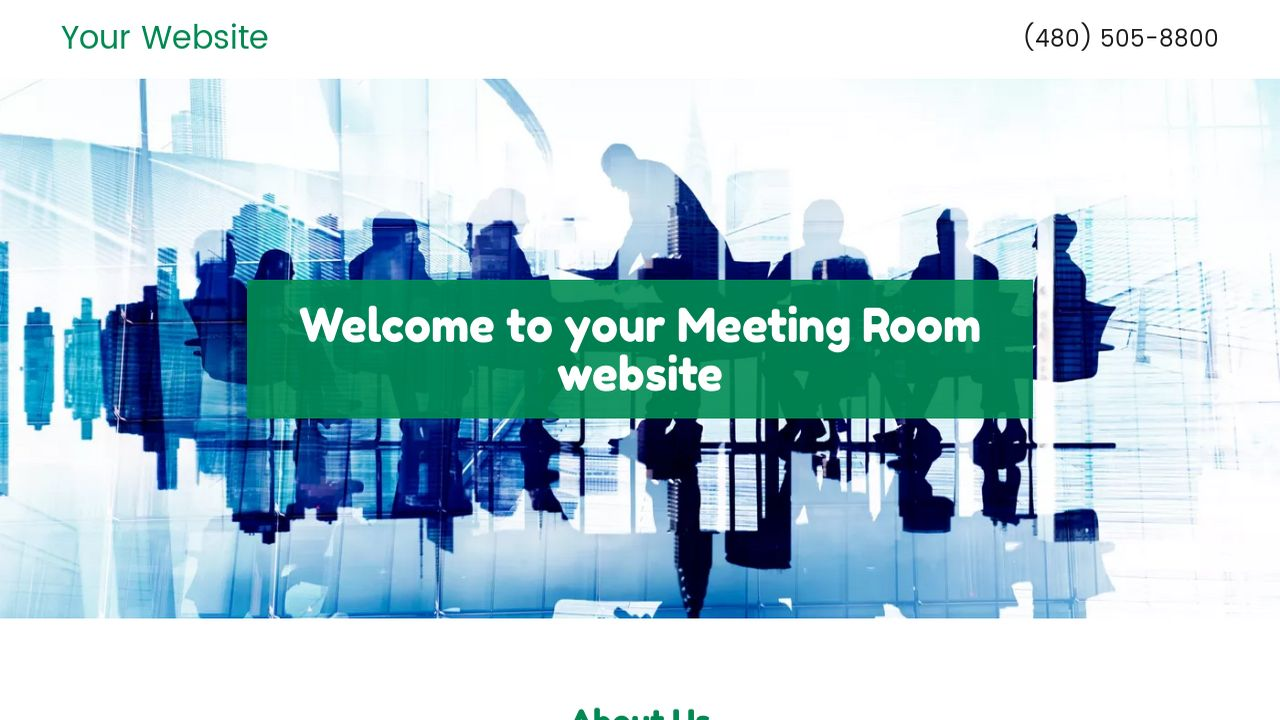 Meeting Room Website: Example 11
