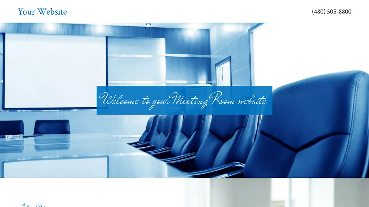 Meeting Room Website: Example 18