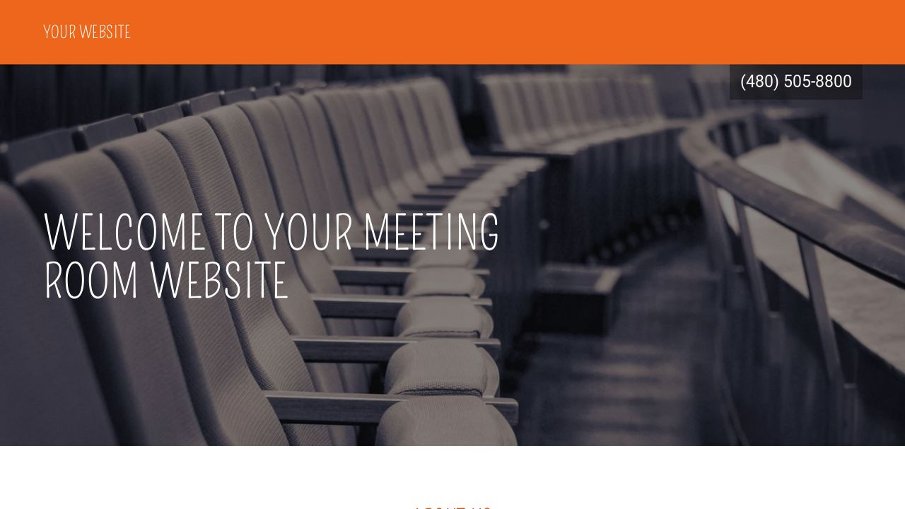 Meeting Room Website: Example 5