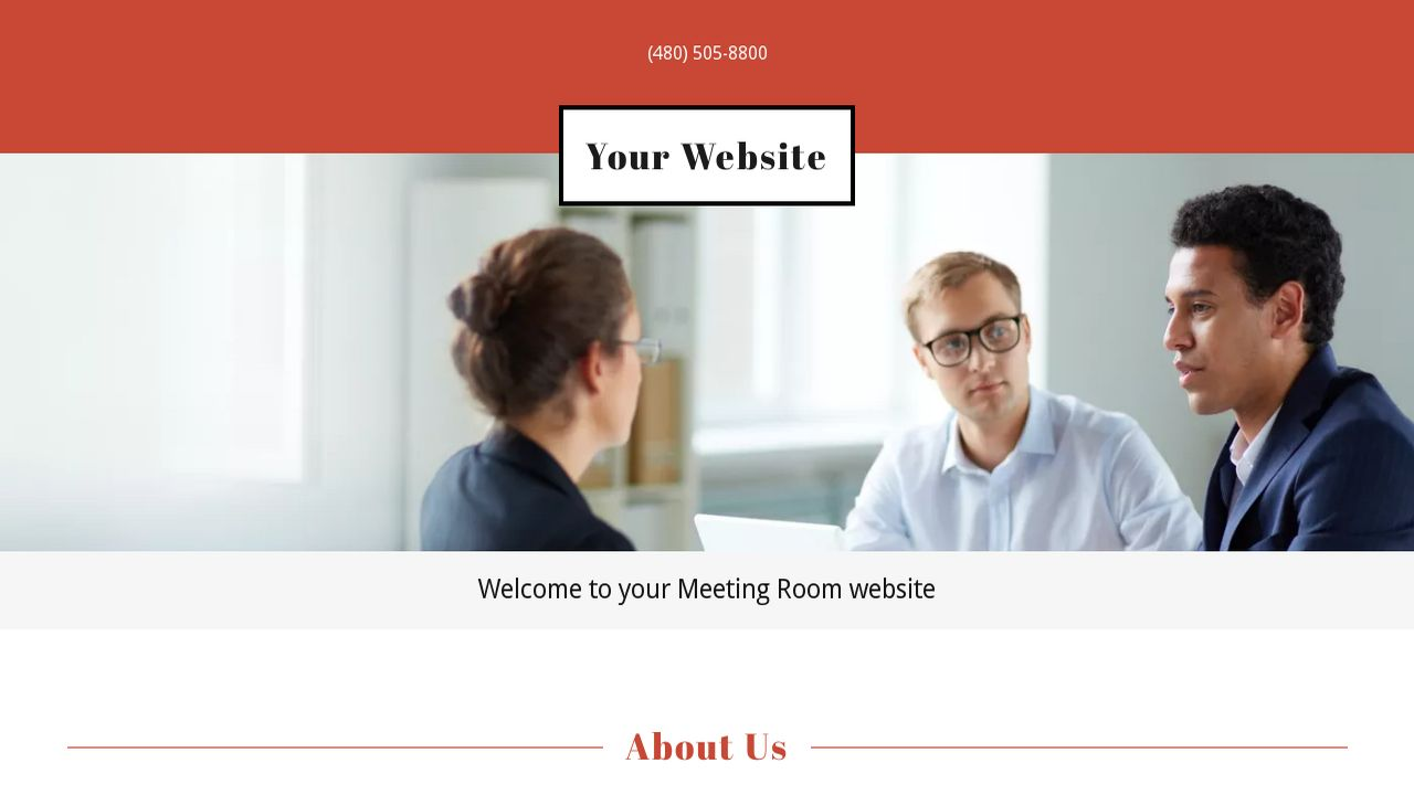 Meeting Room Website: Example 7