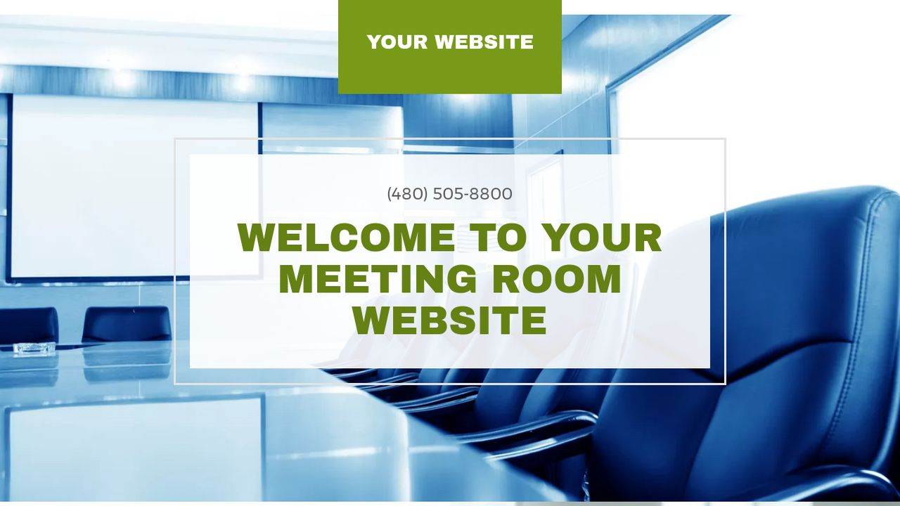Meeting Room Website: Example 8