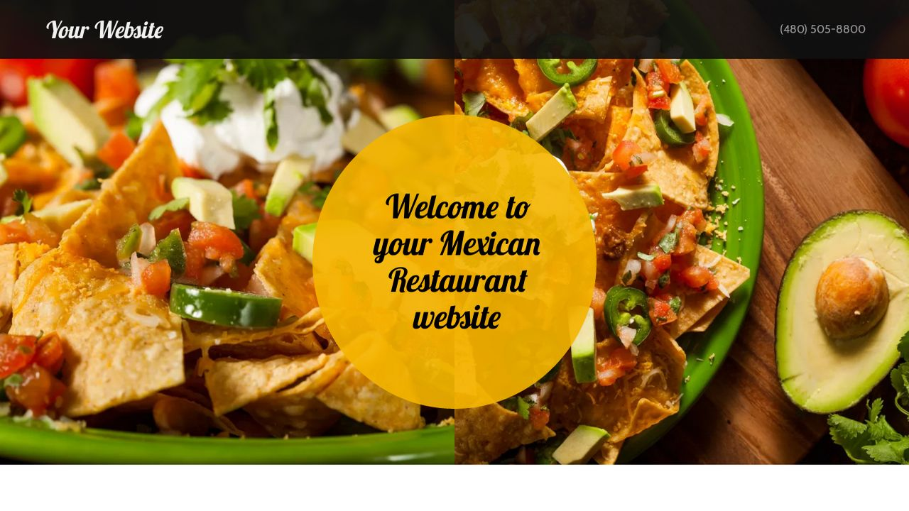 Mexican Restaurant Website Templates Godaddy