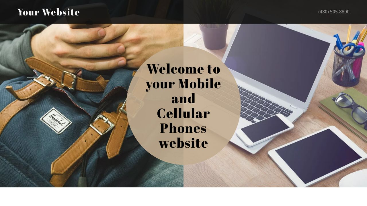 Mobile and Cellular Phones Website: Example 15
