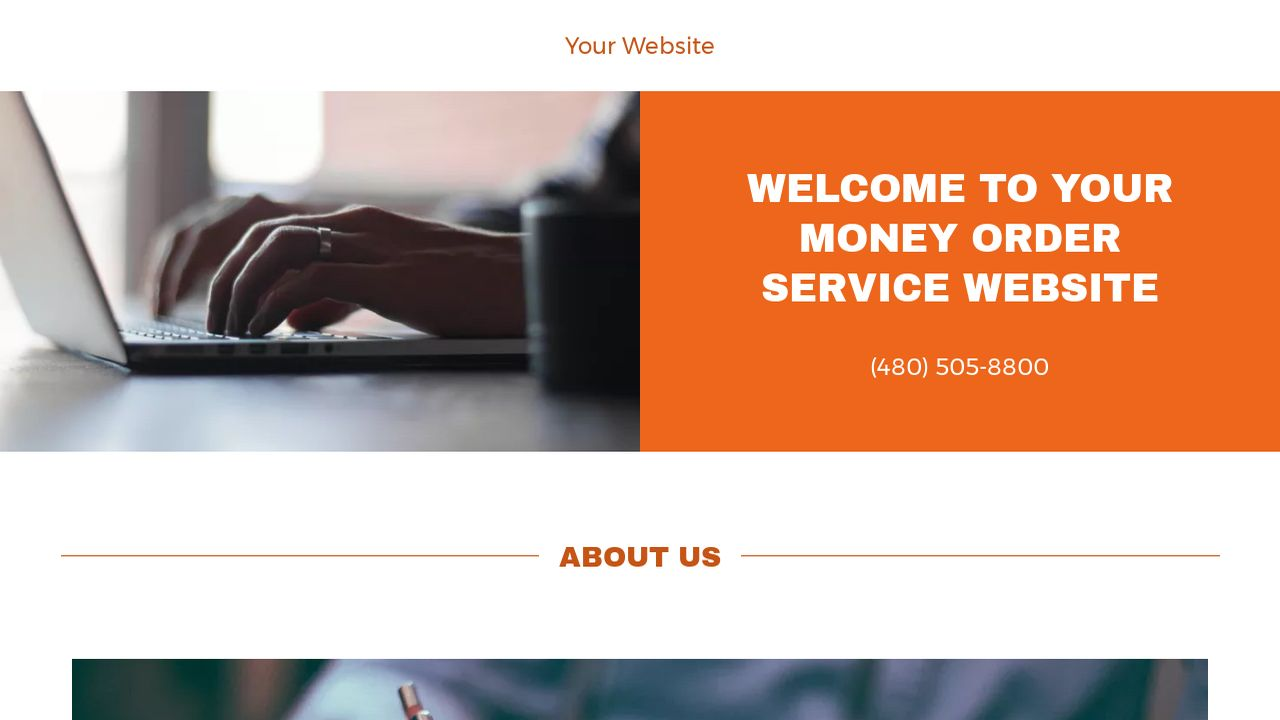 Money Order Service Website: Example 10