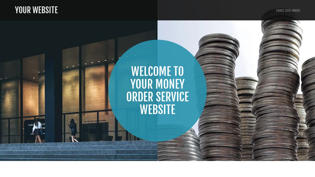 Money Order Service Website: Example 11