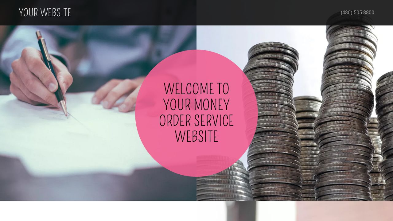 Money Order Service Website: Example 18