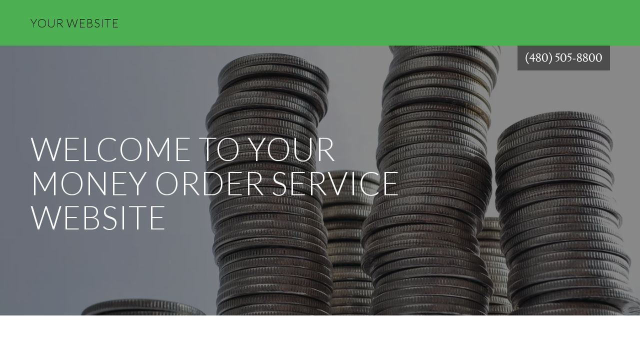 Money Order Service Website: Example 6