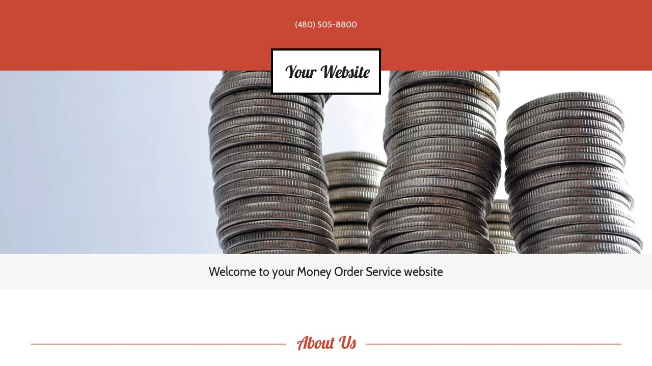 Money Order Service Website: Example 9