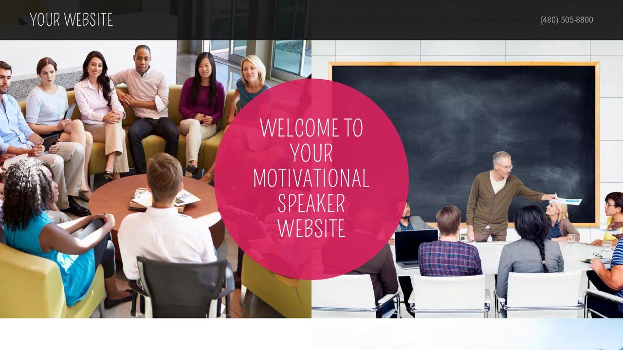 Motivational Speaker Example 13