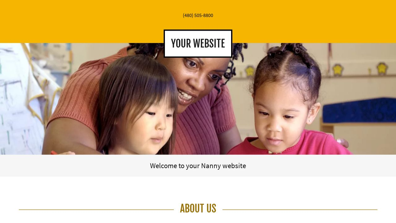 Nanny Website: Example 12