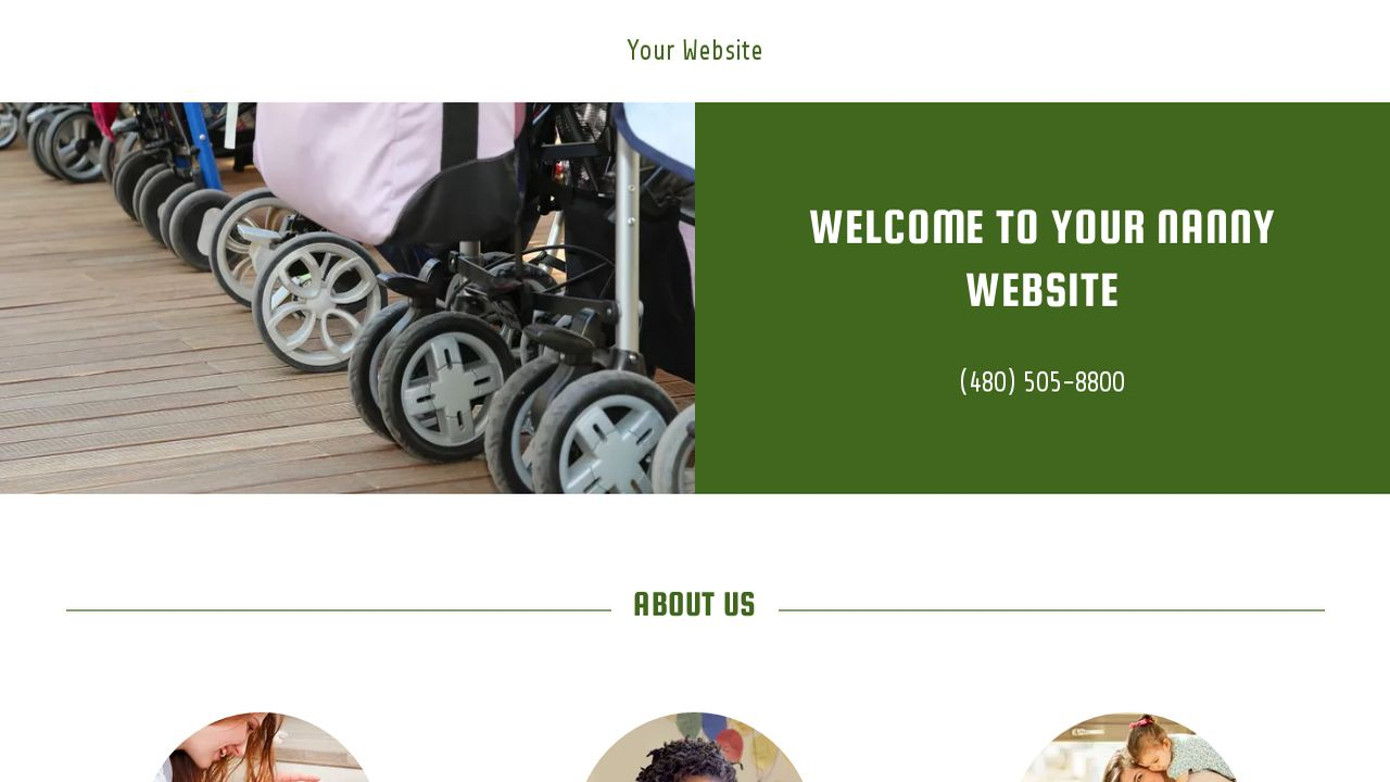 Nanny Website: Example 18