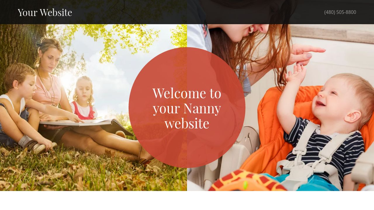Nanny Website: Example 2