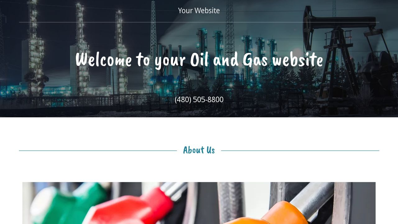 example 11 oil and gas website template godaddy. Black Bedroom Furniture Sets. Home Design Ideas