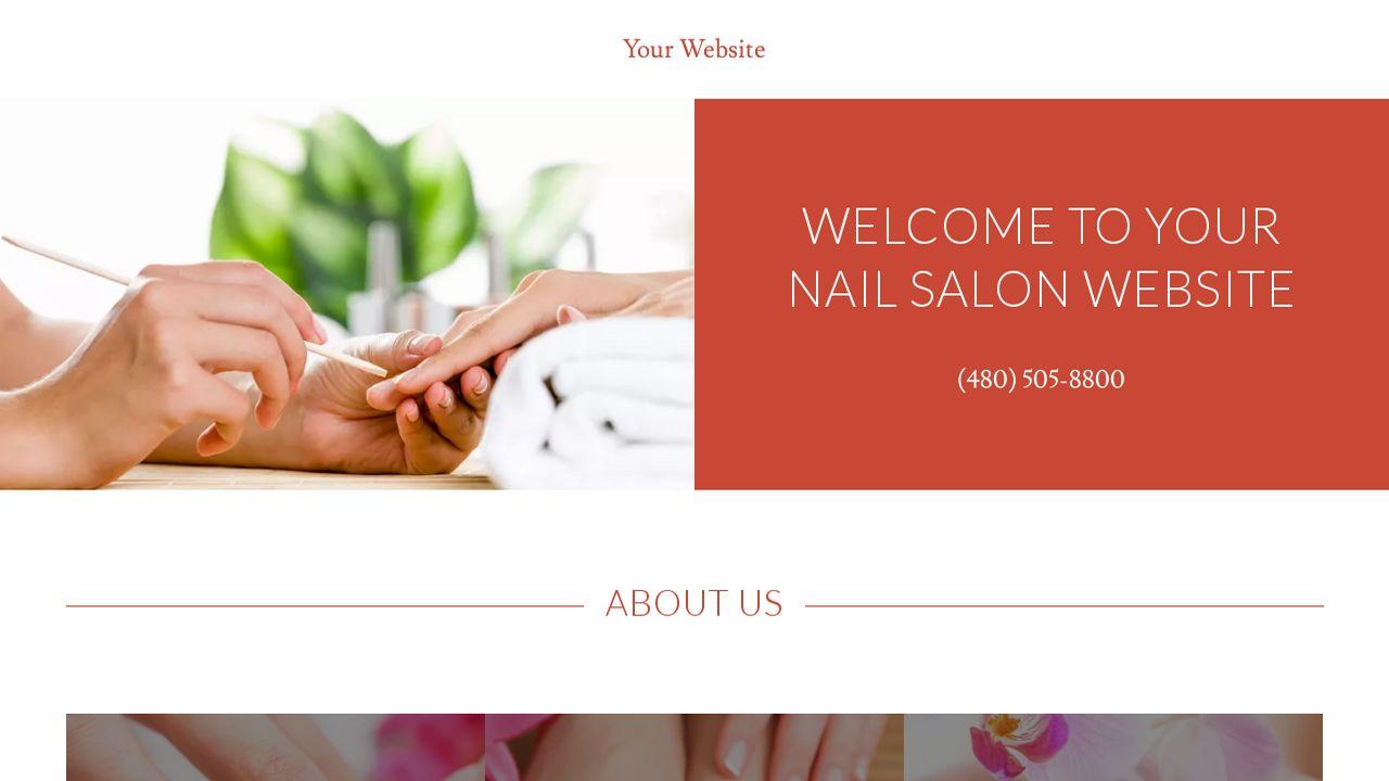 Nail Salon Website Templates | GoDaddy