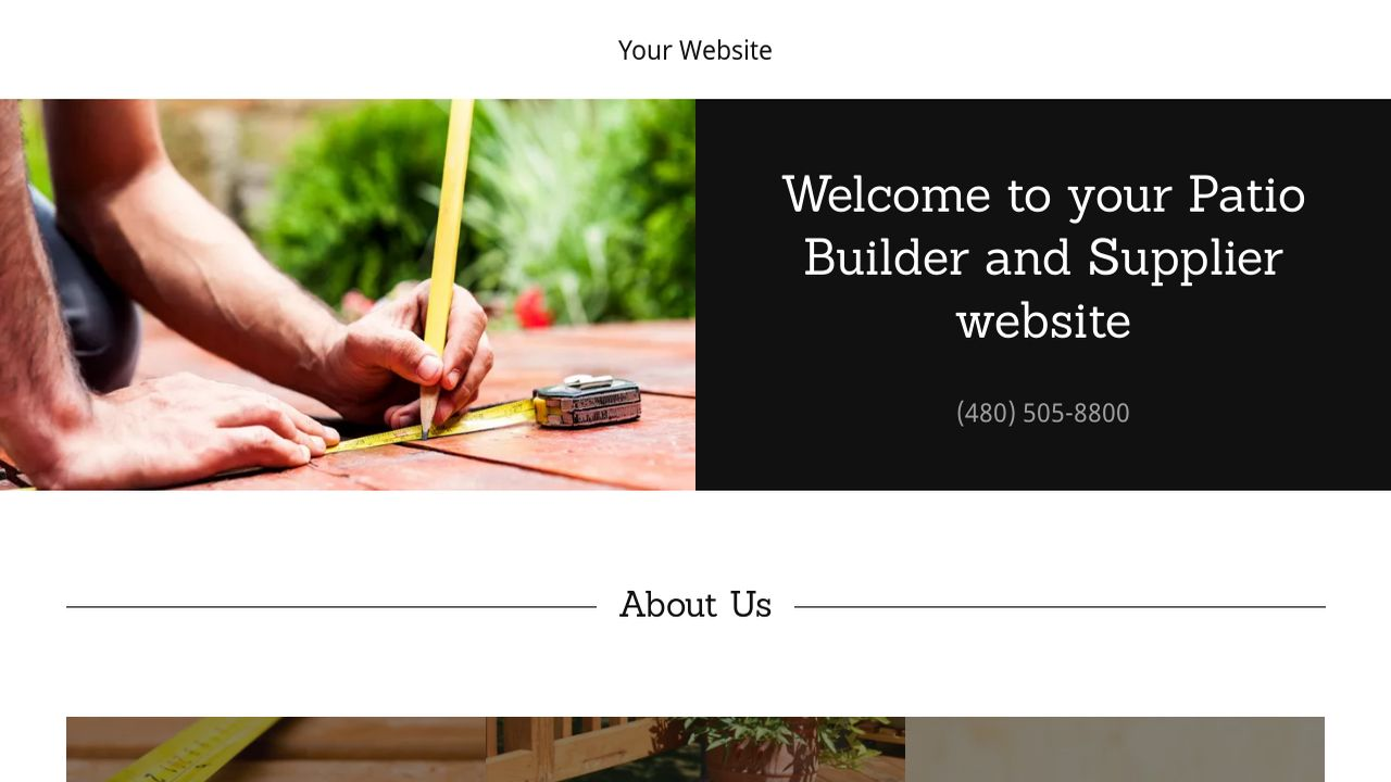 Patio Builder And Supplier Example 10