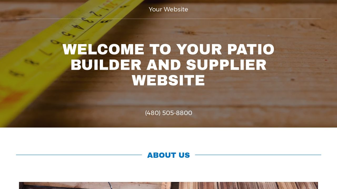 Patio Builder And Supplier Example 11