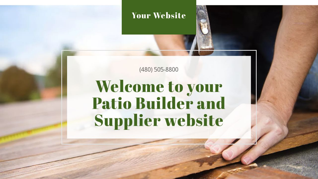 Patio Builder And Supplier Example 16