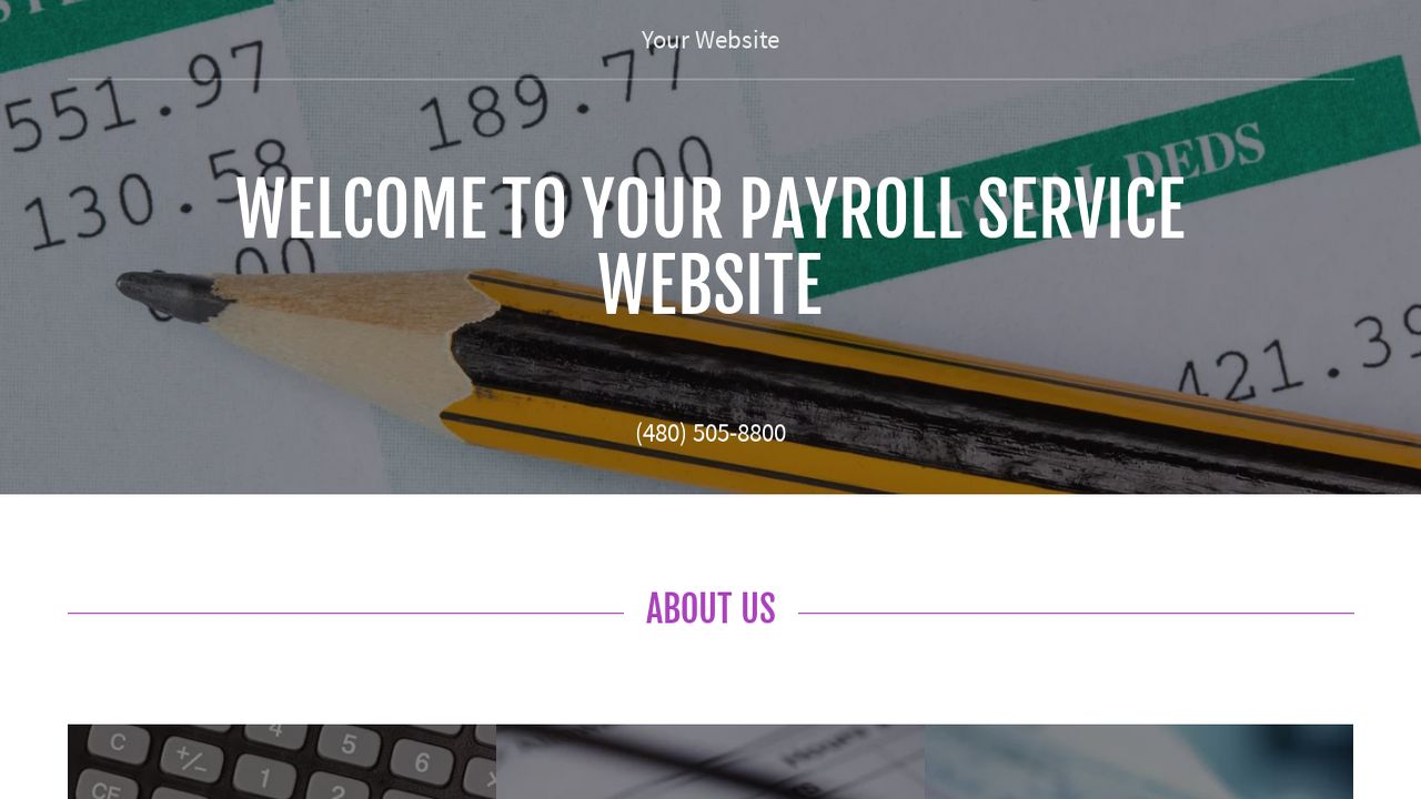 Payroll Service Website: Example 11
