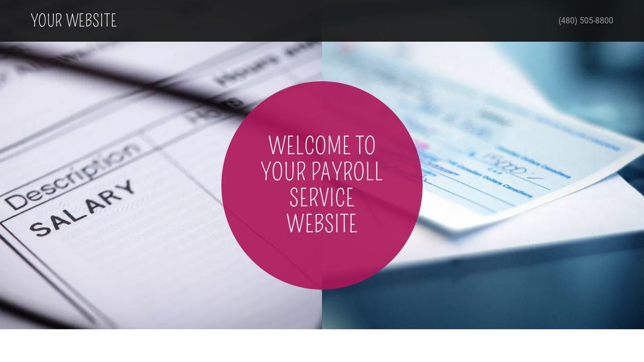 Payroll Service Website: Example 12