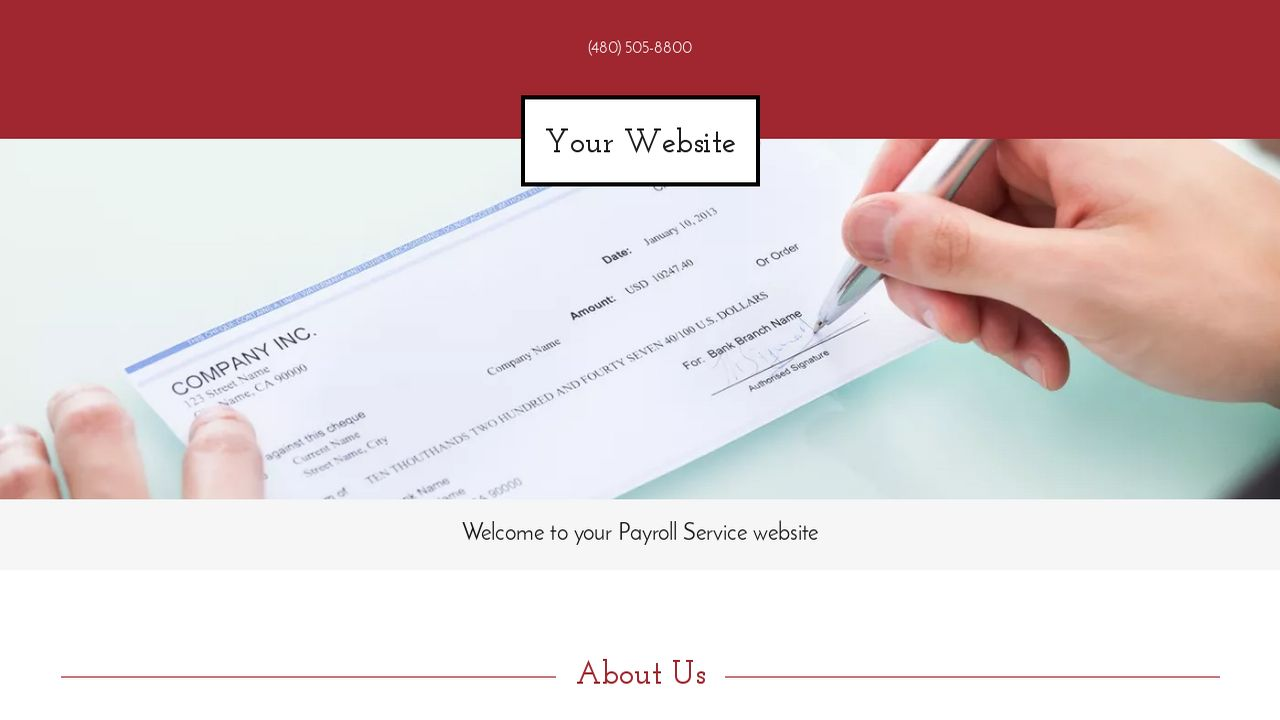 Payroll Service Website: Example 14