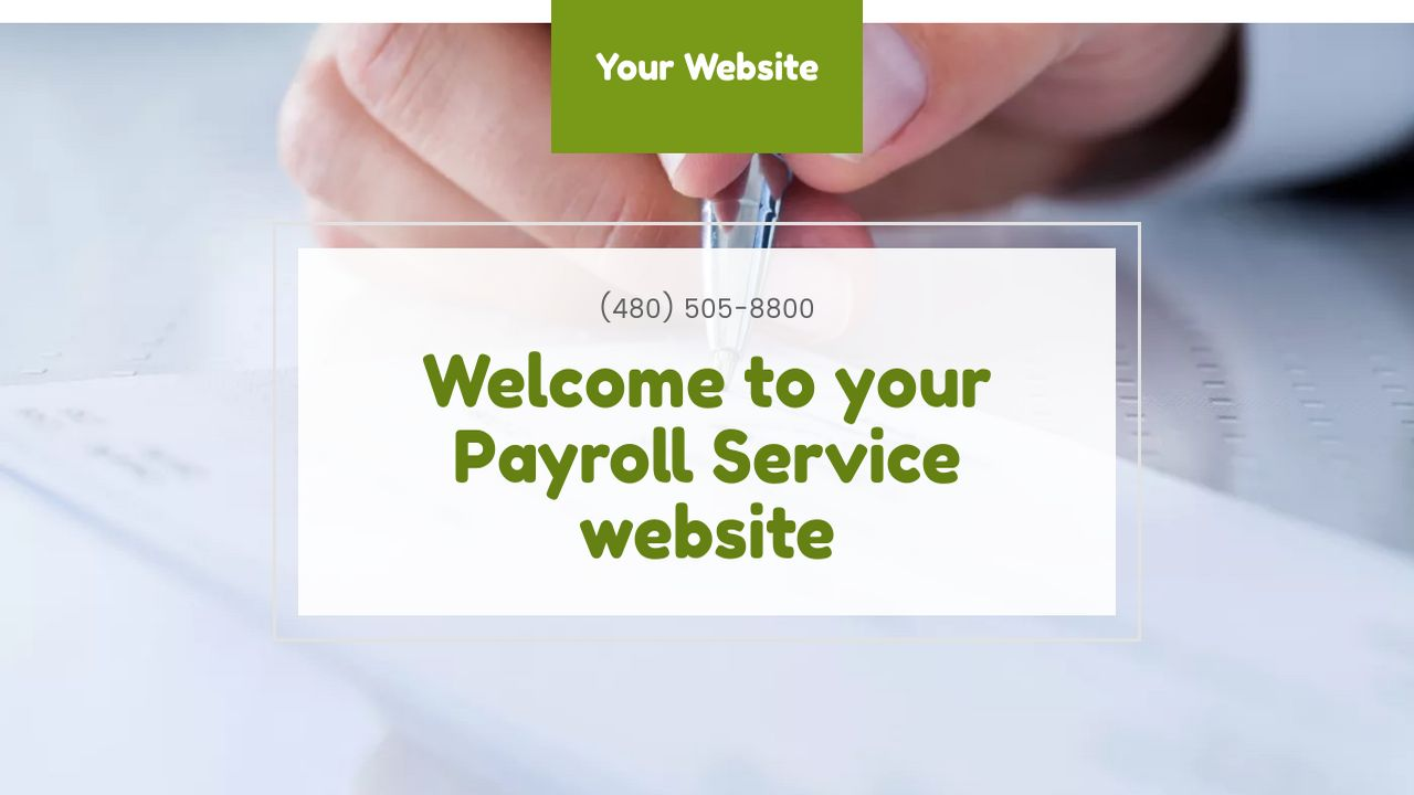 Payroll Service Website: Example 8