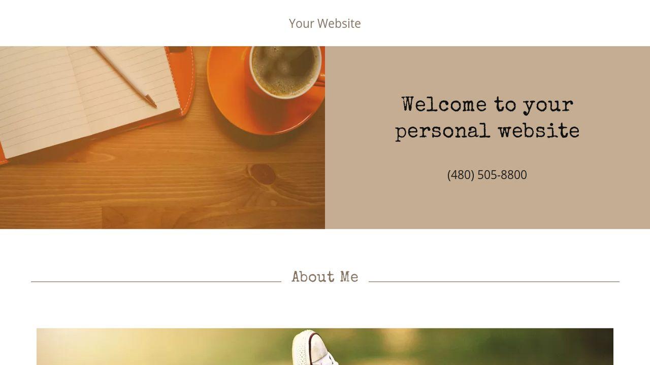 personal website website templates godaddy. Black Bedroom Furniture Sets. Home Design Ideas