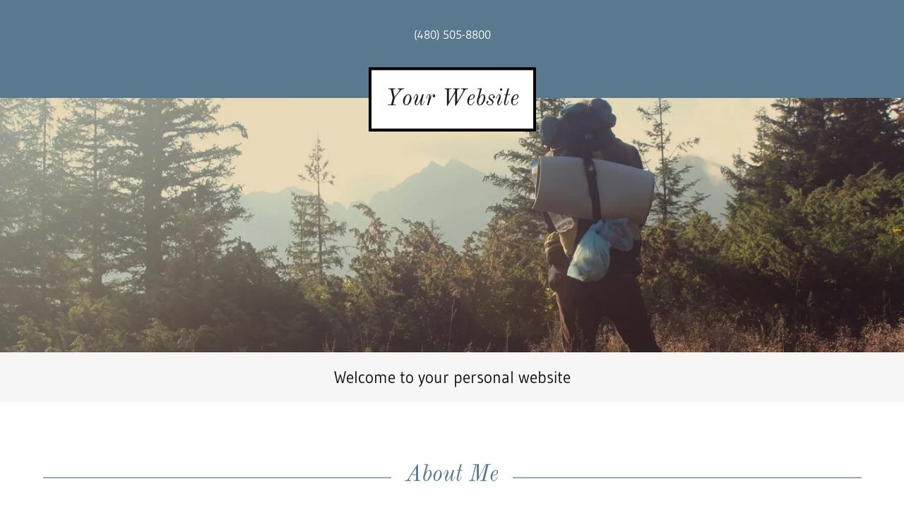 personal website website templates godaddy