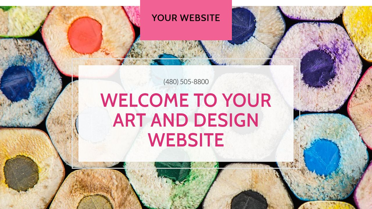 Art and Design Website: Example 15