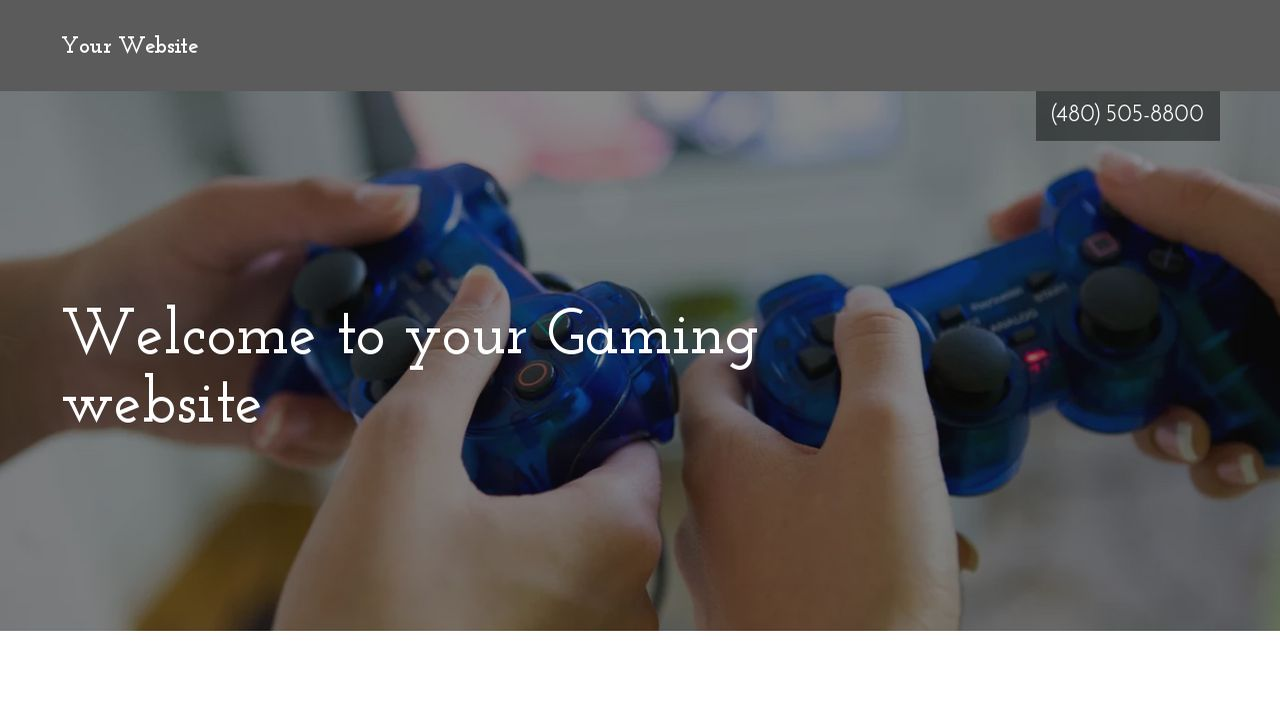 Gaming Website Templates