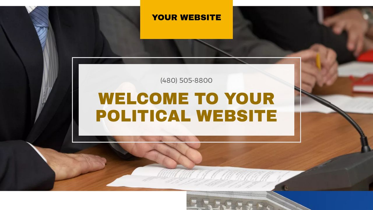 Political Website: Example 7