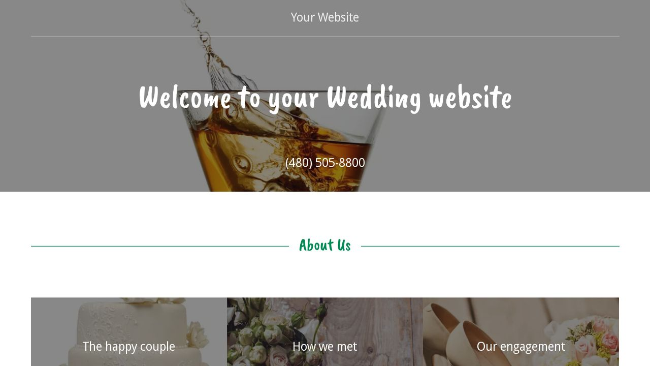Wedding Website Templates Godaddy