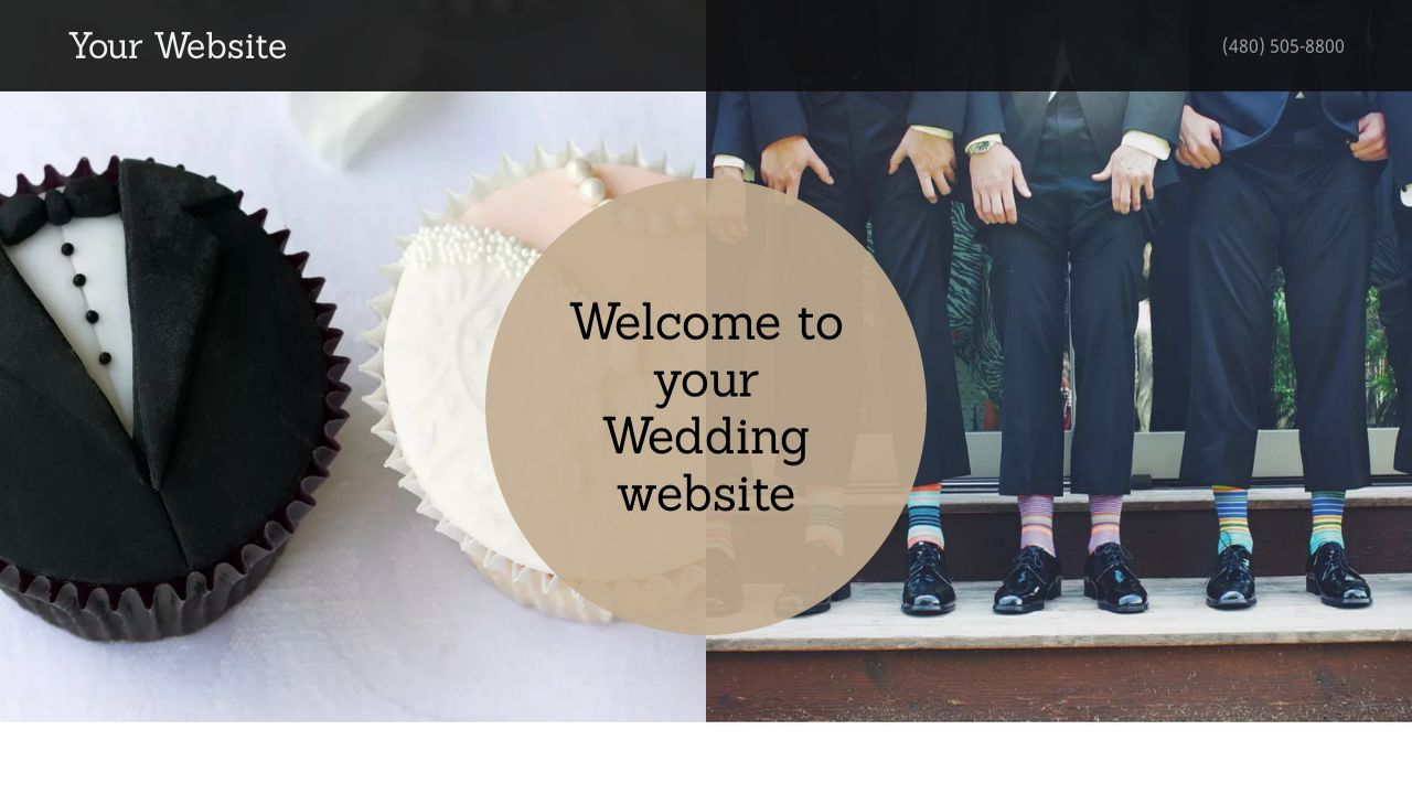Wedding Website: Example 16