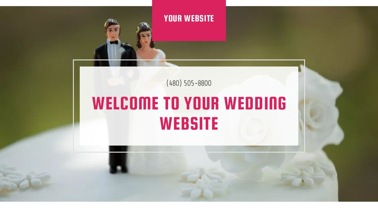 Wedding Website: Example 6